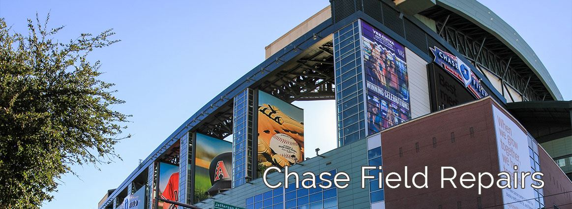 Chase Field Repairs